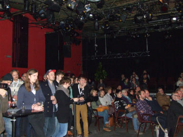 Full of anticipation: The crowd enjoying the Danish talents in Köln